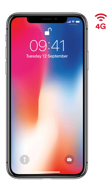virgin media iphone X