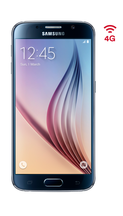 Front of Samsung S6
