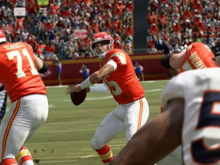 Screenshot of Patrick Mahomes:Madden 20