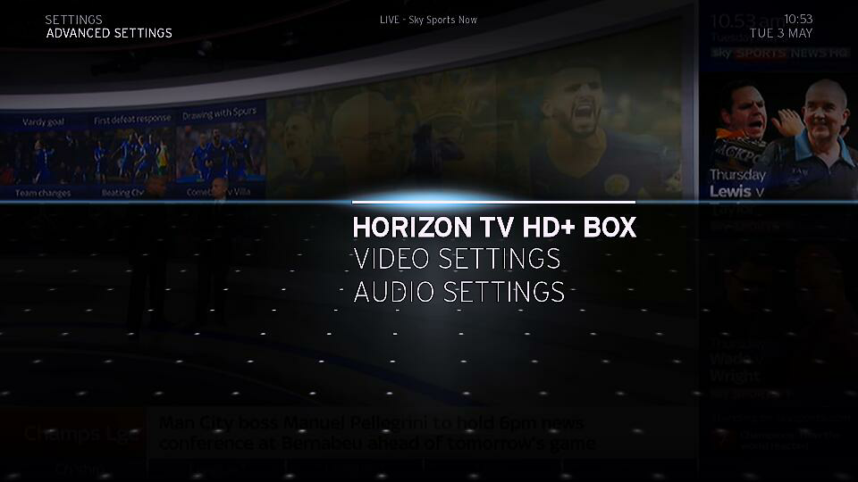 Horizon Box Hard Reset