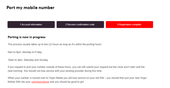 how to change mobile provider and keep number