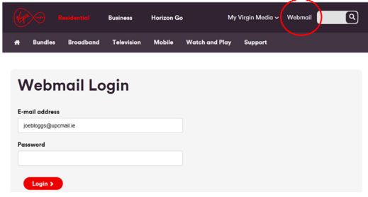 Something Virgin media email addresses apologise