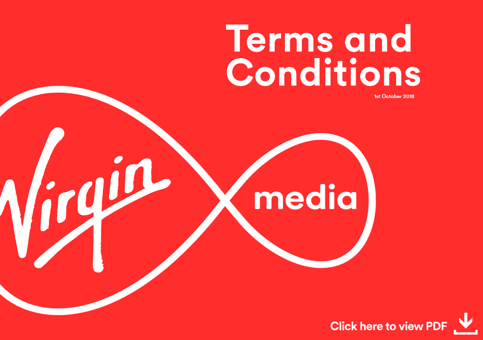 Terms | Terms And Conditions | Virgin Media Ireland